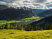 Winkleralm, Oberdrautal near Lienz, Lienz Dolomites, East Tyrol, Tyrol, Austria