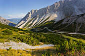 Hahntennjoch, Lechtaler Alps, Tyrol, Austria