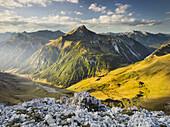 Namloser Wetterspitze, Steinjochl, Lechtaler Alps, Tyrol, Austria