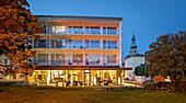 Parkhotel, Kurpark, Baden near Vienna, Lower Austria, Austria