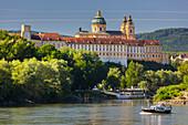 Benedictine Abbey of Melk, Lower Austria, Austria, Europe