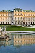 Upper Belvedere Palace, 3rd district, Vienna, Austria