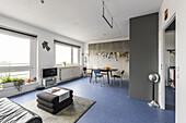 modern prefab apartment in Berlin, Alexanderplatz, Berlin, Germany