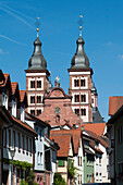Abbey church in Amorbach, Miltenberg, Odenwald, Bavaria, Germany