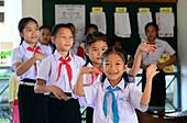 School in the SOS childrens village near Luang Prabang, Laos, Asia