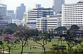 Golf course of the Royal Bangkok Sports Club, Bangkok, Thailand