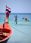 Kata Yai beach, Island Phuket, South-Thailand, Thailand