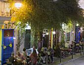 Restaurants in Old City Center, Eivissa, Ibiza, Balearic Islands, Spain
