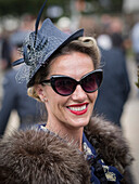 Visitor, Goodwood Revival 2014, Racing Sport, Classic Car, Goodwood, Chichester, Sussex, England, Great Britain
