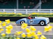 Jowett Jupiter, Tony Gaze Trophy, 72nd Members Meeting, Rennsport, Autorennen, Classic Car, Goodwood, Chichester, Sussex, England, Großbritannien