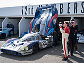 Porsche 917 LH, Le Man classical, 72nd Members Meeting, racing, car racing, classic car, Chichester, Sussex, United Kingdom, Great Britain
