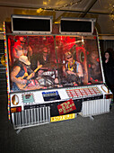 Juke Box with live musicians, 72nd Members Meeting, racing, car racing, classic car, Chichester, Sussex, United Kingdom, Great Britain