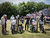 Hillclimb Top Paddock, Goodwood Festival of Speed 2014, racing, car racing, classic car, Chichester, Sussex, United Kingdom, Great Britain