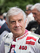 Giacomo Agostini, Goodwood Festival of Speed 2014, racing, car racing, classic car, Chichester, Sussex, United Kingdom, Great Britain