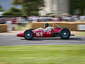 1964 Derrington Francis ATS, Goodwood Festival of Speed 2014, racing, car racing, classic car, Chichester, Sussex, United Kingdom, Great Britain