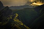 Mystical mood in the coastal mountains, Cantabrian Mountains, Asturias, Spain