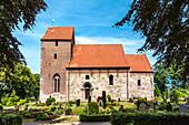Laurentius church, Munkbarup, Baltic Coast, Schleswig-Holstein, Germany