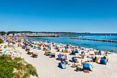 Beach, Kiel-Schilksee, Baltic Coast, Schleswig-Holstein, Germany
