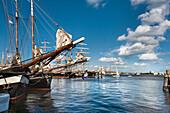 Sailing ship, Kieler Woche, Kiel, Baltic Coast, Schleswig-Holstein, Germany