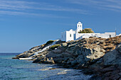 Eftamartyres Church on the greek island of Sifnos (Syphnos), Aegean, Cyclades, Greece