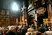 In the chapel of Grace at Kapellplatz, Altoetting, Chiemgau, Upper Bavaria, Bavaria, Germany