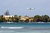 Airplane, Caribbean Airlines, Hotel, Crown Point, Tobago, West Indies
