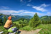 Allgäu, Schwaben, Bayern, Deutschland, Allgäuer Alpen