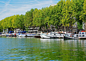 Paris, Canal de L'Ourcq, La Villette Basin
