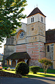 France, Aquitaine,  Landes (40), Sorde l'Abbaye, saint Jean Baptiste abbey (unesco world heritage), the church