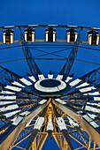 Europe,France, the great wheel Place de la Concorde in Paris, nightfall