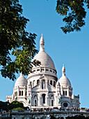 France, Paris, Butte Montmartre, Sacré cœur basilica