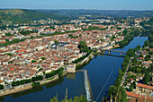 Europe, France, lot, The city of Cahors.