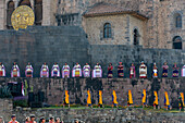 Inti Raymi,the Festival of the Sun is the annual recreation of an important Inca ceremony  in the city of Cuzco, Peru,South America-june 24,2013
