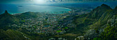 Aerial view of Cape Town, Western Cape, South Africa