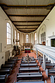 Isenhagen Abbey, cloister, nun's cell, Lutheran women's convent, medieval, brick architecture, Lower Saxony, Germany