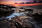 Coast at Red Tank, Lana`i, Hawai`i