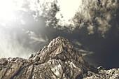 Lucin peak next to the highest peak of the mountain Durmitor.