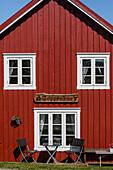 The small Norwegian fishing village of Nes,  Vega Island, UNESCO World Heritage Site, Norway, Scandinavia, Europe