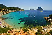 Cala D'Ort, Vedra Island, Ibiza, Balearic Islands, Spain, Mediterranean, Europe