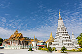 The Silver Pagoda (Wat Preah Keo) in the capital city of Phnom Penh, Cambodia, Indochina, Southeast Asia, Asia