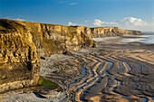 Dunraven Bay, Southerdown, Vale of Glamorgan, Wales, United Kingdom, Europe