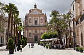 Collegio di Gesu Church, Piazza Ciullo, Alcamo, Trapani, Sicily, Italy, Europe