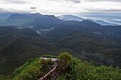 Walking trail, Adams Peak, Sri Lanka, Asia