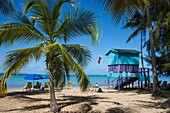 Luquillo Beach, Puerto Rico, West Indies, Caribbean, Central America