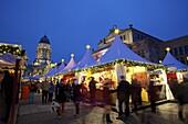 Xmas Market, German Cathedral, Gendarmenmarkt, Berlin, Germany, Europe