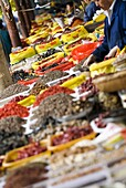 Produce for sale, Xining, Qinghai, China, Asia