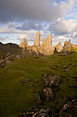 The Old Man of Storr, The Storr, Isle of Skye, Inner Hebrides, west coast, Scotland, United Kingdom, Europe
