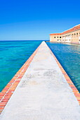 Passageway, Fort Jefferson, Dry Tortugas National Park, Florida, United States of America, North America