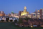 Buffalo City skyline, New York State, United States of America, North America
