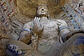 Buddhist caves at Yungang dating from the 5th and 6th centuries, UNESCO World Heritage Site, Datong, Shanxi, China, Asia